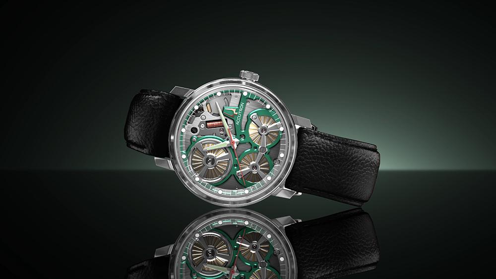 Accutron 正式推出 世界首個以靜電能驅動的腕錶系列